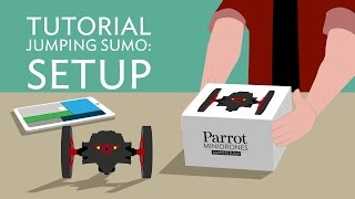 Parrot Jumping Sumo - Tutorial #1 - Setup