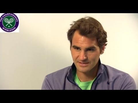 Roger Federer re-lives his Wimbledon memories