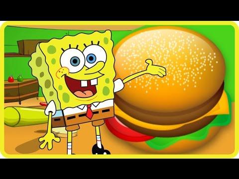 Spongebob Krabby Patty Dash | Best Games VK