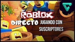 🔵 ROBLOX'S DIRECT PLAYING WITH FREE ROBUX SUBSCRIBERS AND DONANDO COMES TO PARTICIPATE🔴