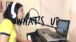 What S Up 4 Non Blondes Acoustic Cover By Emily Sin Throwback Thursday