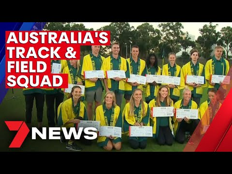Download Australia's 2021 Olympic Track and Field squad named in Sydney | 7NEWS