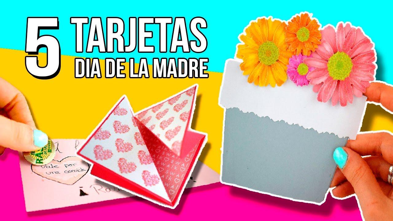 5 Impresionantes Tarjetas Para El Dia De La Madre