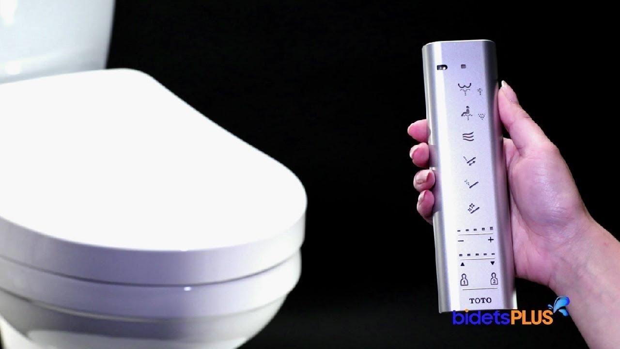 TOTO S550e / S500e Washlet Review - bidetsPLUS.com - YouTube