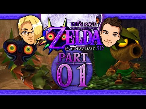 Let's Race: The Legend of Zelda: Majora's Mask 3D - Part 1 - First 3 Days