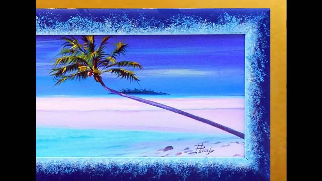Quadri di paesaggi marini quadri-olio.com - YouTube