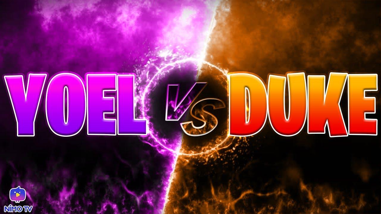 YOEL VS DUKE *duke hacker?*