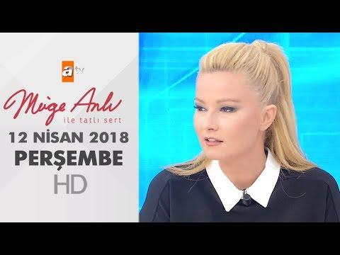 Müge Anlı ile Tatlı Sert 12 Nisan 2018...