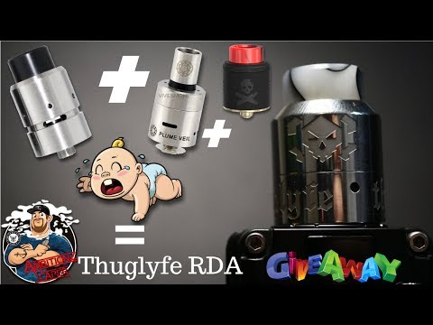 Thuglyfe RDA by Thuglyfe Vape Co Review/Build/Giveaway | Velocity/Plume Veil/Bonza RDA Had A Baby!