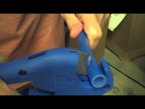 Cutting Pex Tubing