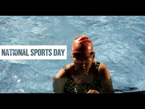 Celebrating National Sports Day | IIT Bombay Sports