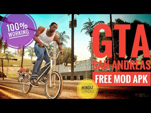 GTA San Andreas Android MOD Apk + Data | No Root | Hack | Revdl Rexdl | Download Link In Hindi/Urdu.