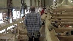 Dragon Harald Fairhair. The construction of a Viking Dragon Ship