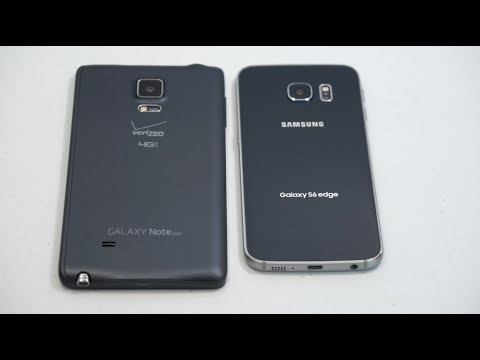 Samsung Galaxy S6 edge vs.  Samsung Galaxy Note Edge Comparison Smackdown