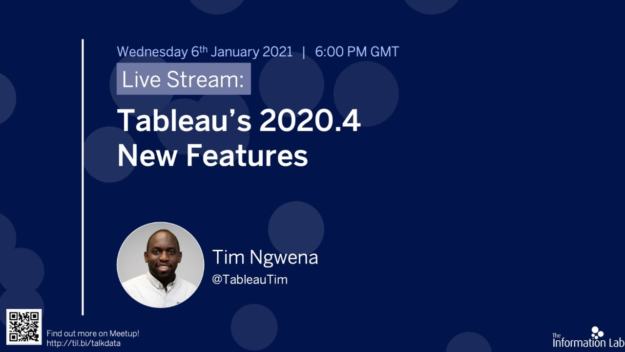 Tableau Tim 2020 2 What S New In Tableau Desktop 2020 2 Youtube
