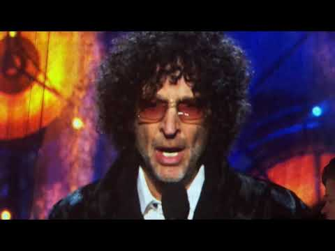 Howard Stern Rock Hall Induction Bon Jovi Cleveland 2018 ...