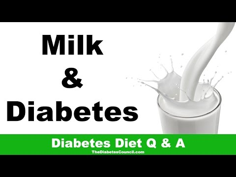 Is Milk Good For Diabetes?