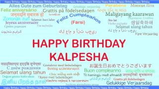 Kalpesha   Languages Idiomas - Happy Birthday