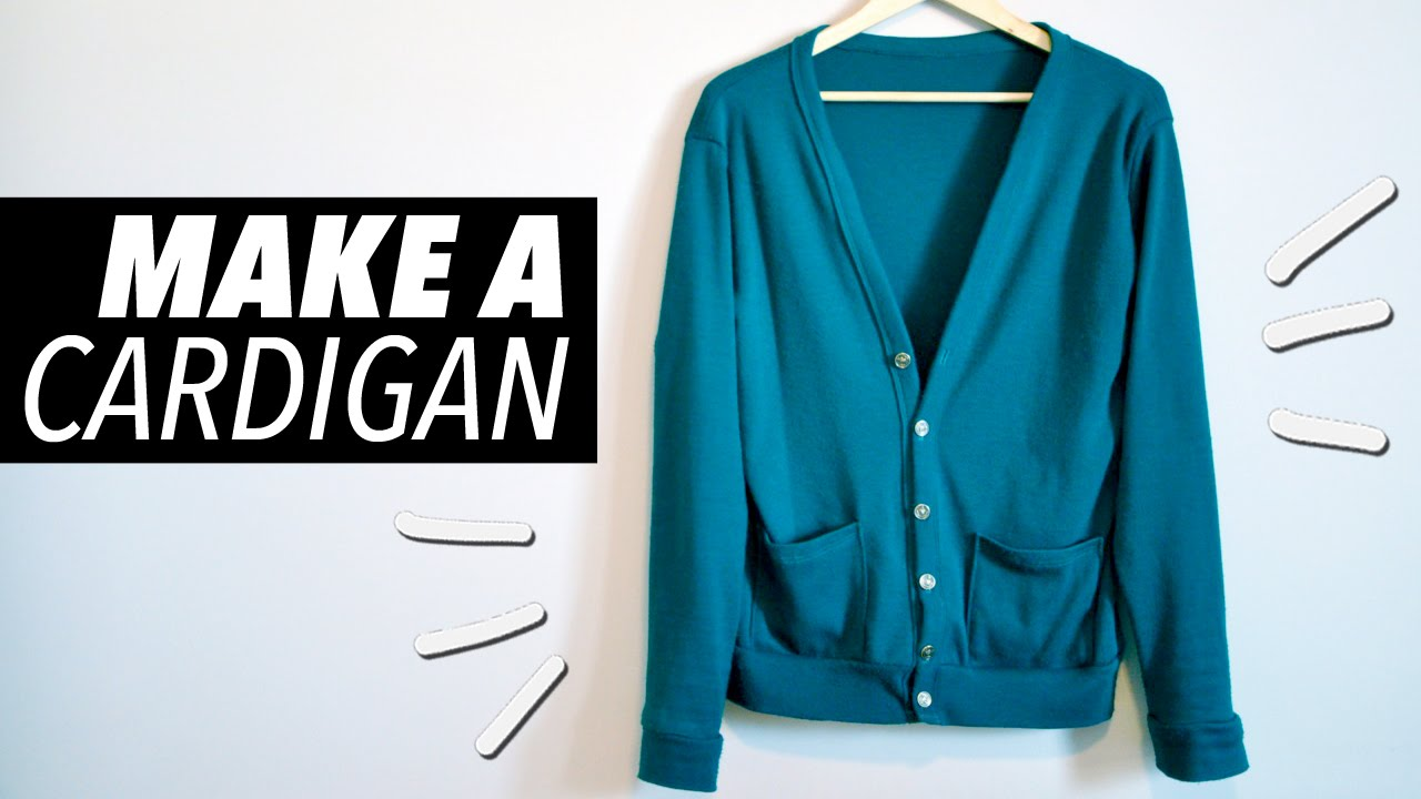 How to Make a Cardigan (with Pockets!) | WITHWENDY - YouTube