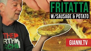 Frittata: Italian Egg, Sausage And Potato Pie, Italian Recipe - Gianni's North Beach