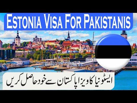 Estonia Visa for Pakistan 2020 l Estonia Tourist Visa l Visit Visa l How to get Estonia tourist Visa