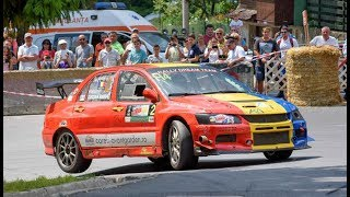 Hillclimb Sinaia 2017 Maximum Attack and Launch Start - Mitsubishi Dacia Subaru Honda Ferrari Part.4