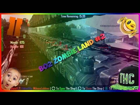 Black ops 2 Zombie Land Modded Lobby #2