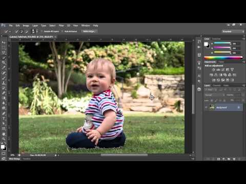 Photoshop CS6 Simulate Shallow Depth of Field