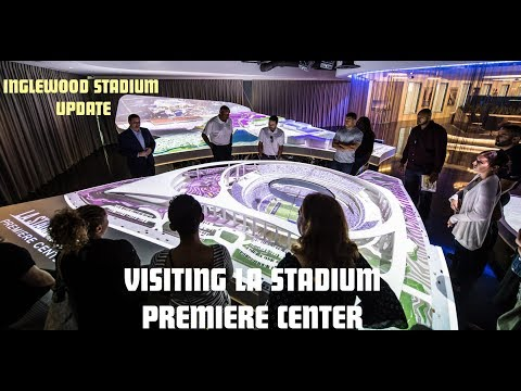 Inglewood Stadium Update | Visiting LA Stadium Premiere Center | Pincay Dr