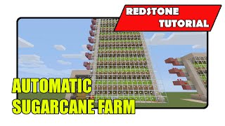 Fully Automatic Sugarcane Farm (Minecraft Xbox TU23/CU11/PlayStation CL1.15)