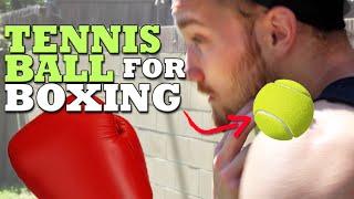 3 Unique Boxing Drills Using a Tennis Ball thumbnail
