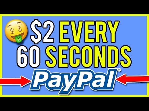 FREE PayPal Money - Earn $2 Every 60 Seconds