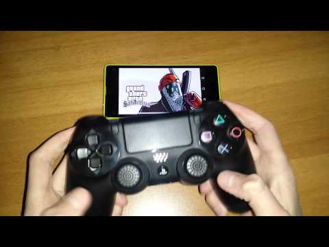 How to connect a ps4 controller to android no root