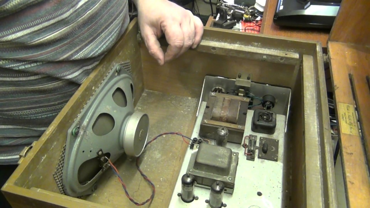 Checking Out The Clarke Amp Smith Gp 7 Record Player Youtube