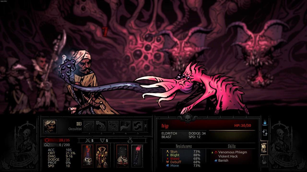 Darkest Dungeon Tier List 2020.Darkest Dungeon Stygian Mode Dd3 Pd Occ Hwm Hel