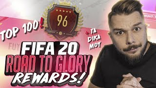 RANK 96 ΣΤΟΝ ΚΟΣΜΟ!!! | REWARDS | #FIFA20 GREEK ULTIMATE TEAM ROAD TO GLORY #3