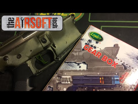 Siegetek 9 Tooth DSG, Lonex Version2 Gearbox I Brill Armory Parts Review I