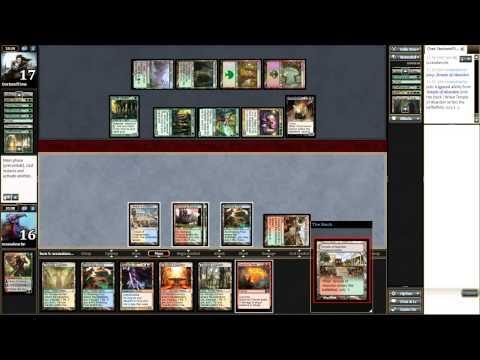 Epic Experiment vs BG Dredge - Magic the Gathering MTG