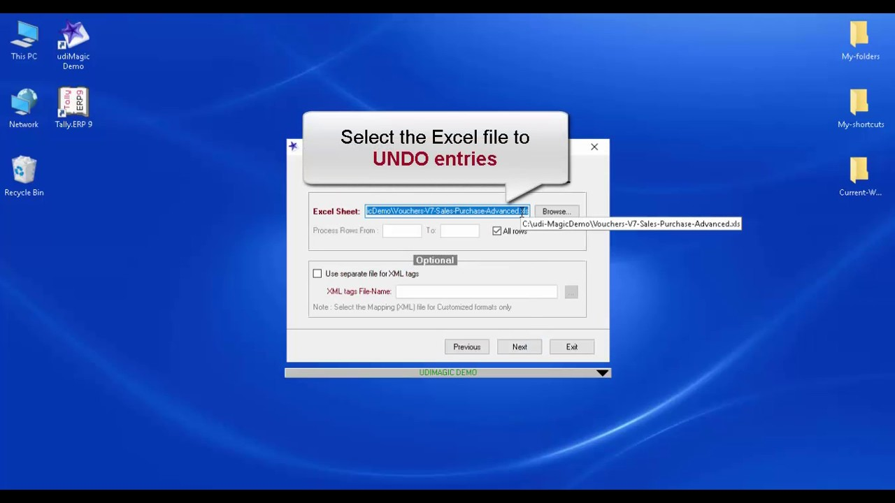 udiMagic | Excel to Tally Software | Excel to Tally utility