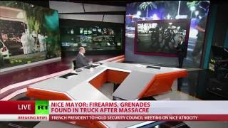 Nice truck rampage on Bastille Day caught on camera (video analysis)