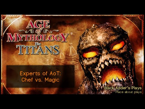 Experts of AoT #4: Chef vs. Magic - Poseidon vs. Isis - Watering Hole - Age of Mythology: The Titans