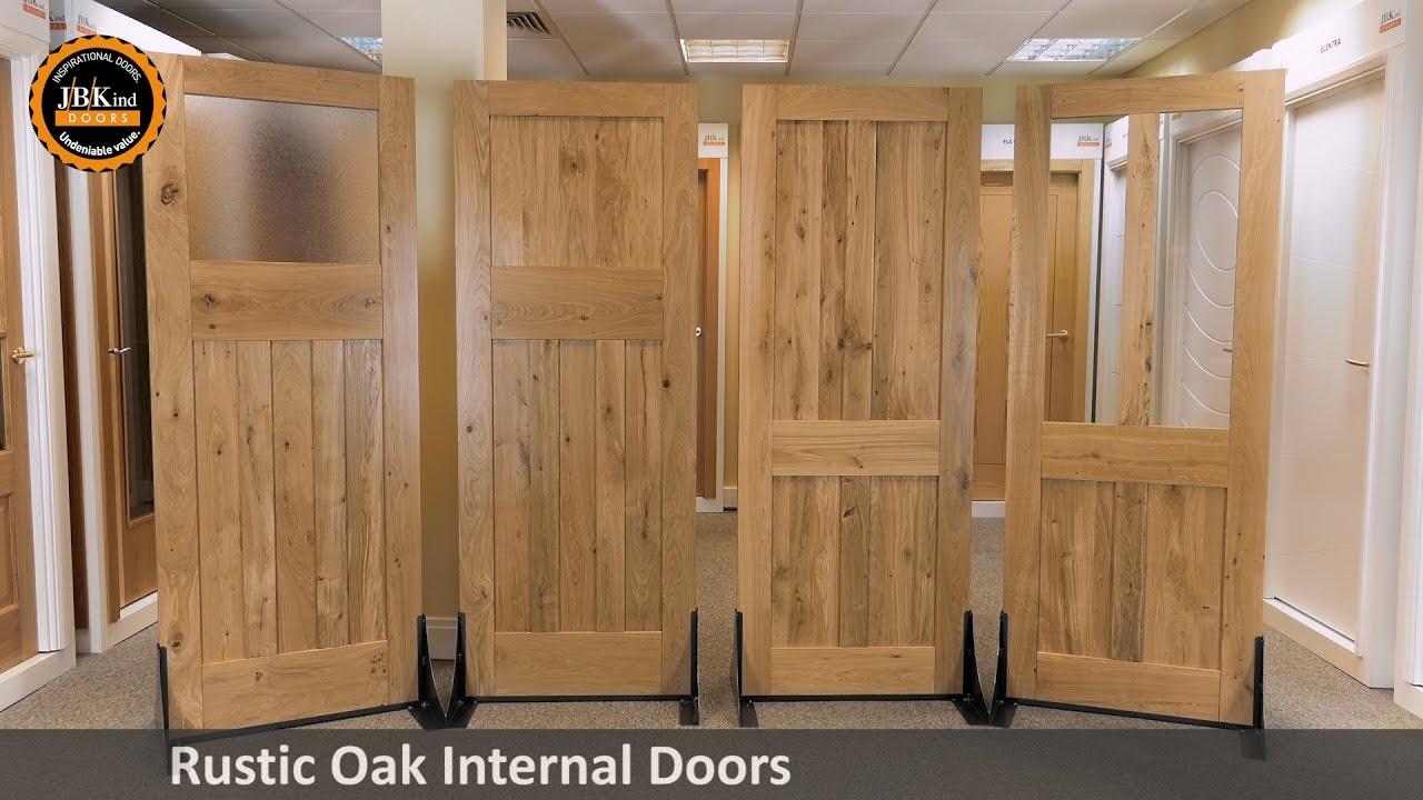 Rustic Oak Internal Doors Youtube