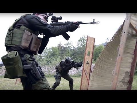 Two Man Shooting drill   AK & VZ58