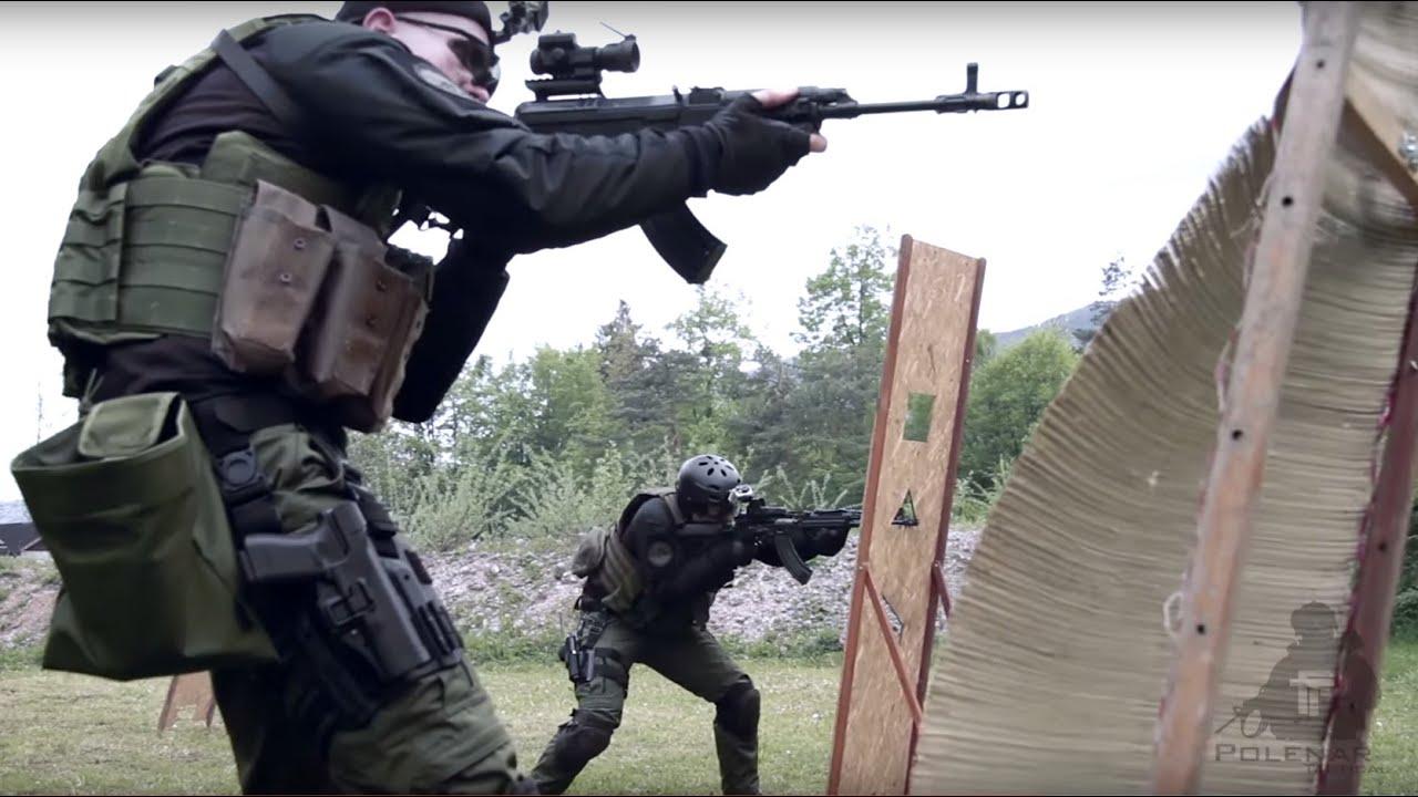Two Man Shooting drill | AK & VZ58