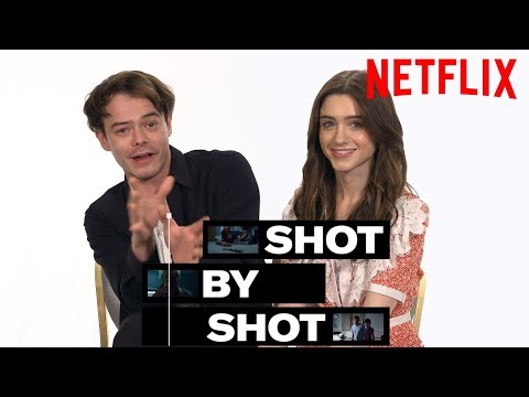 Stranger Things 3 Cast Charlie Heaton & Natalia Dyer Break Down a Scene | Shot by Shot | Netflix