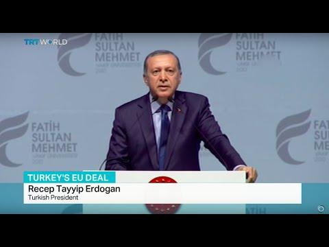 Erdogan: Turkey can hold its own referendum for EU membership