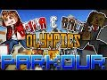 Minecraft: Benja & Bacca Olympics Game 5 - Parkour Sprint Race!