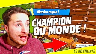 JOUER AVEC XSOO LE CHAMPION DU MONDE SUR FORTNITE !!! [BATTLE ROYALE FR]