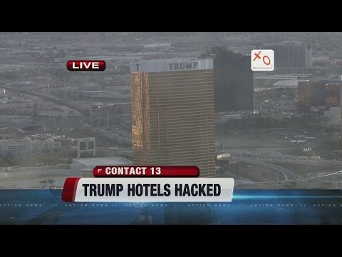 Trump Hotels computers attacked