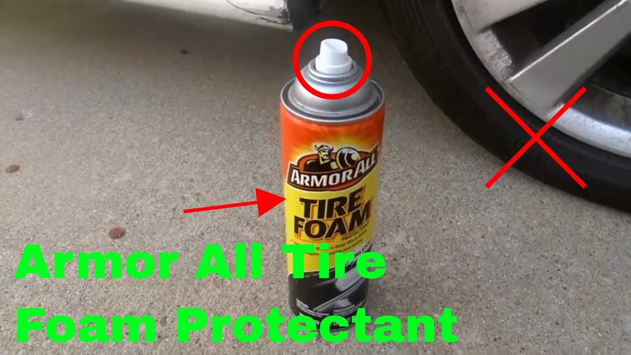 How To Use Armor All Tire Foam Protectant Review